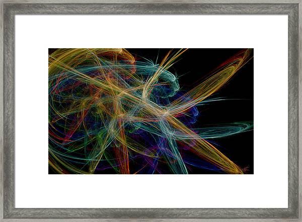 Polysynchronicity 1 Framed Print