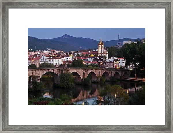 Ponte Da Barca Framed Print by Dias Dos Reis