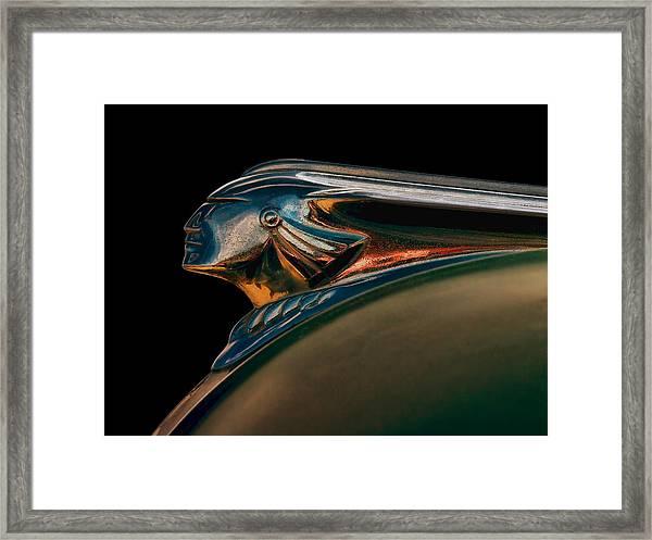 Pontiac Indian Chief Framed Print