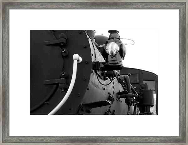 Porter Steam Engine Framed Print