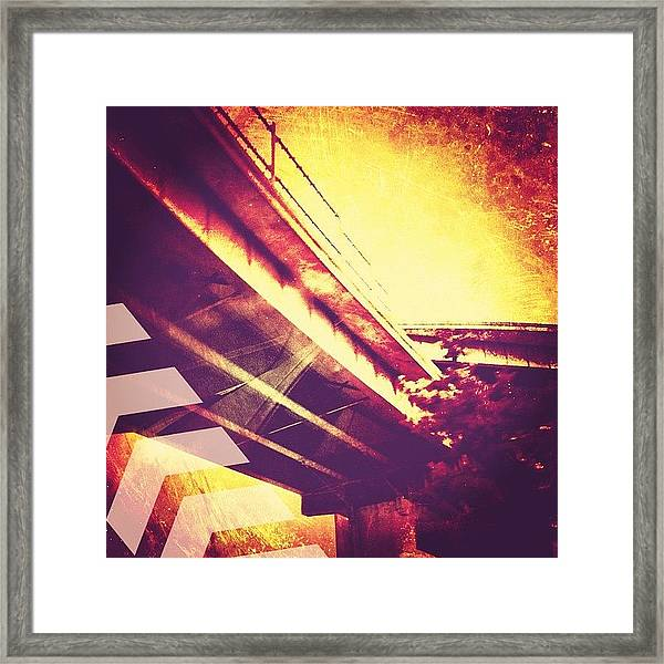 Portland #iphoneonly #iphone Framed Print