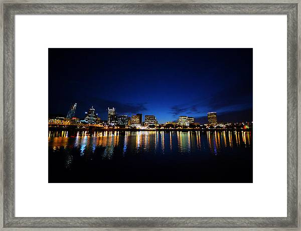 Portland Sleeps Framed Print
