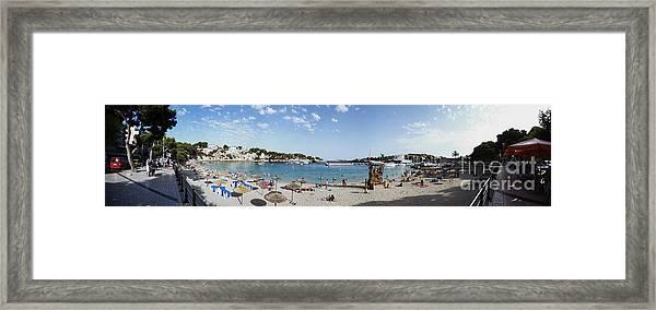 Porto Cristo Beach Framed Print
