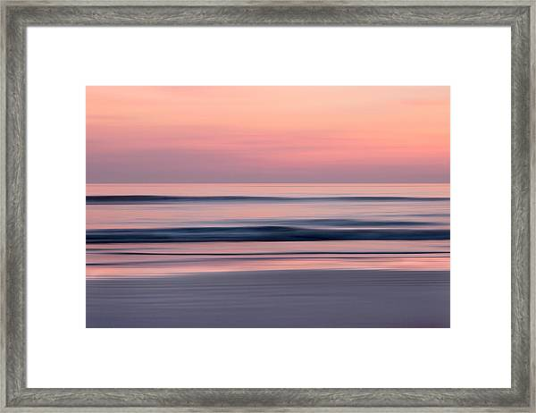 Predawn Surf I Framed Print