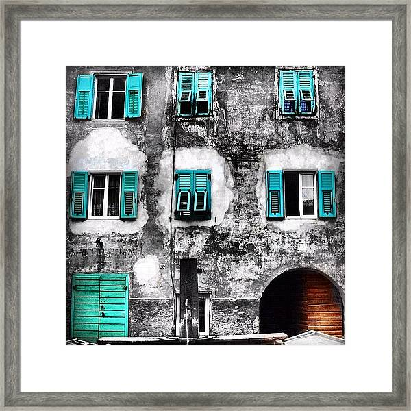 Predazzo Framed Print