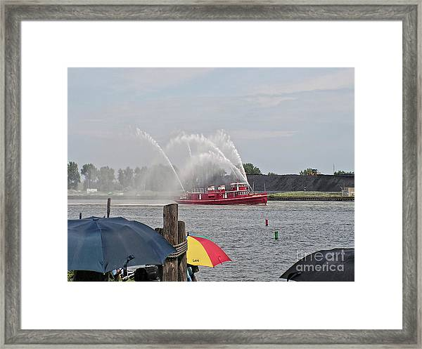 Prepared Framed Print