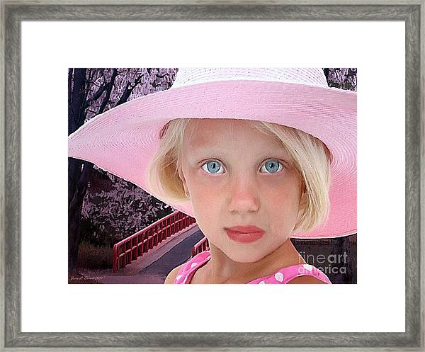 Pretty In Pink Framed Print