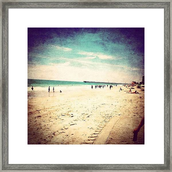 #pretty #prettycolors #summer Framed Print