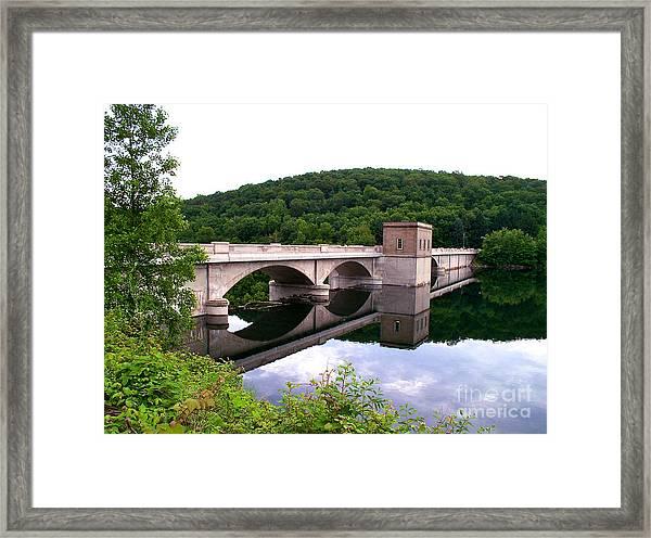 Prettyboy Dam Framed Print