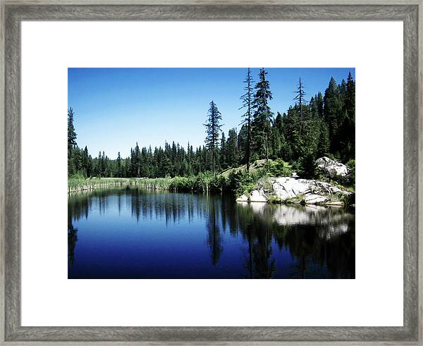Priest Lake Golf Course Framed Print