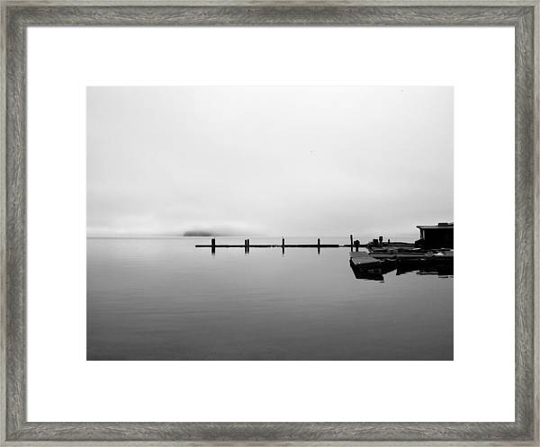 Priest Lake Morning Framed Print