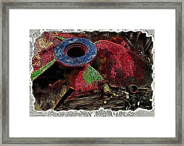 Propellor 2 Framed Print