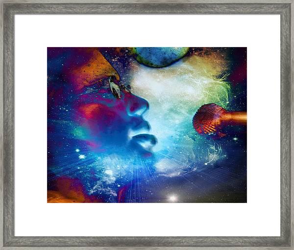 Psychedelic Soul 1 Framed Print