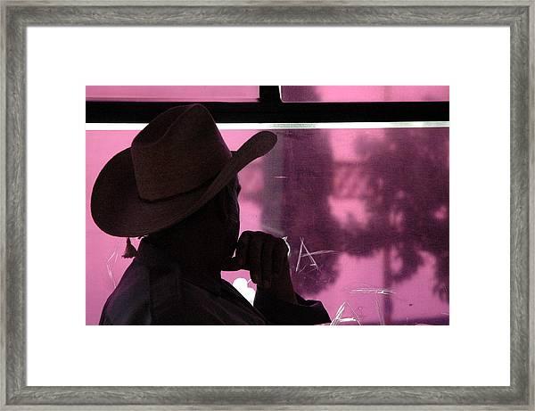 Purple View  Framed Print by Fabio Lorenzano