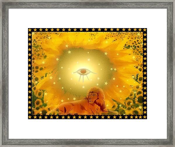 Purusha Framed Print by Harald Dastis