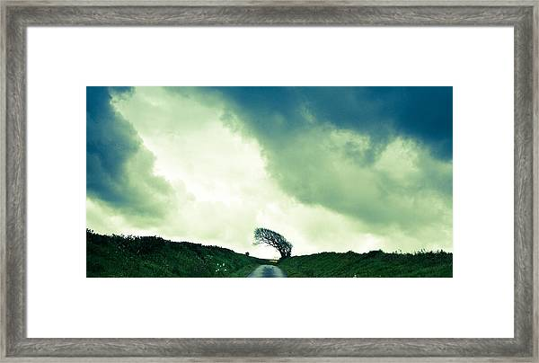Pwer Y Gwynt Framed Print