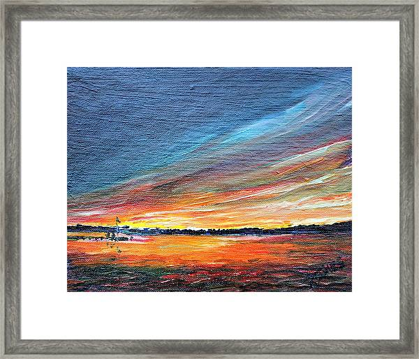 Radiant Framed Print