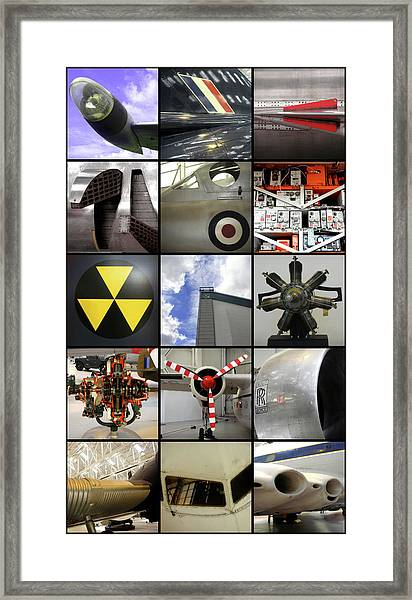 Raf Museum At Cosford Framed Print