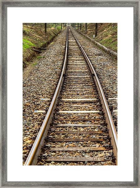 Rail Way Framed Print