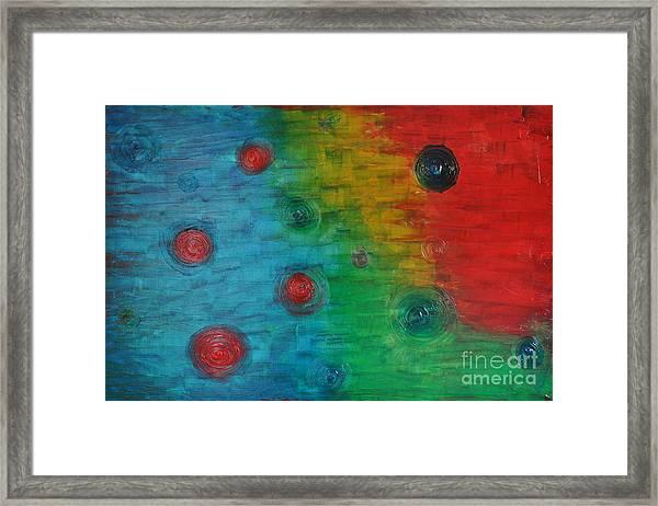 Rainbow Effects Framed Print