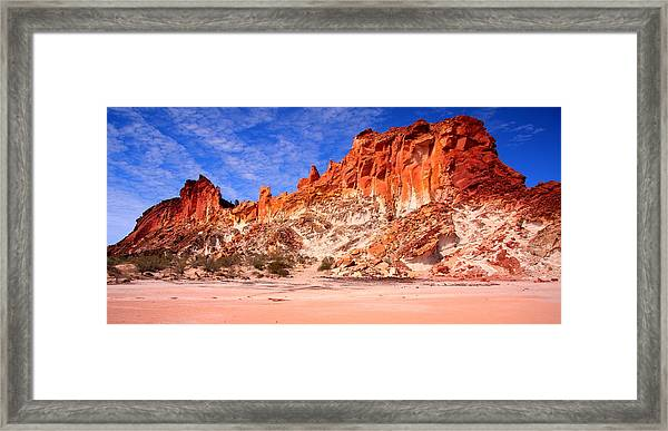 Rainbow Valley Framed Print