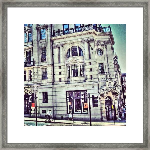 Random Pic In #london | #uk #england Framed Print