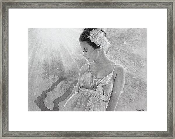 Rapture In The Light Framed Print by Tim Dangaran