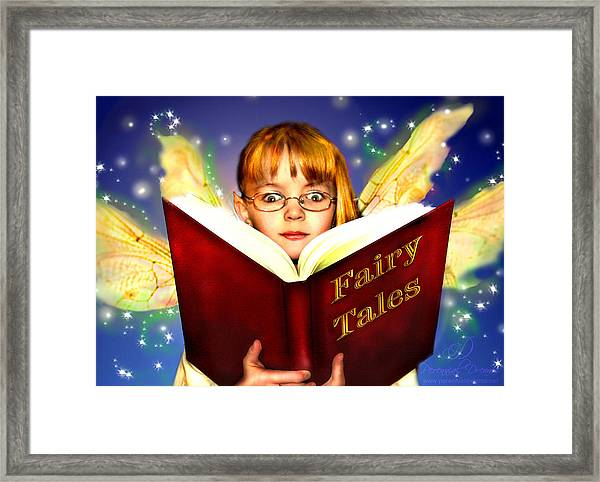 Read More Fairy Tales Framed Print