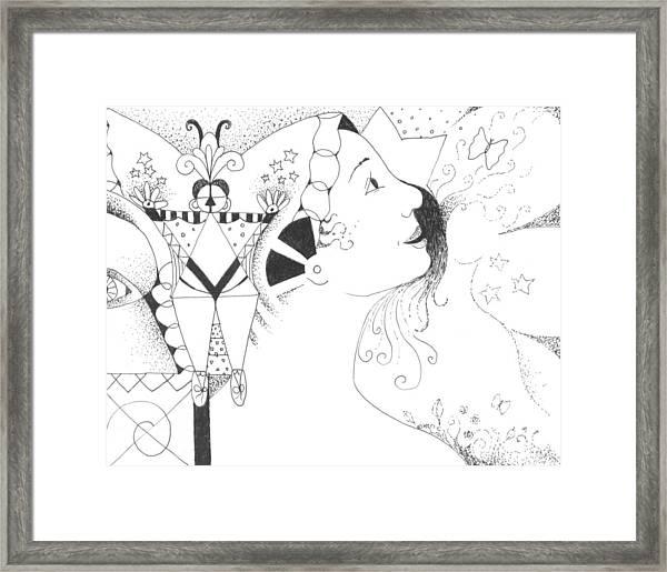 Recalling Dreams Framed Print