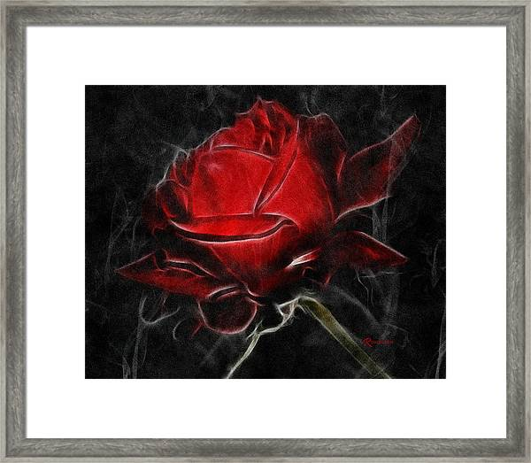 Red And Hot  Framed Print