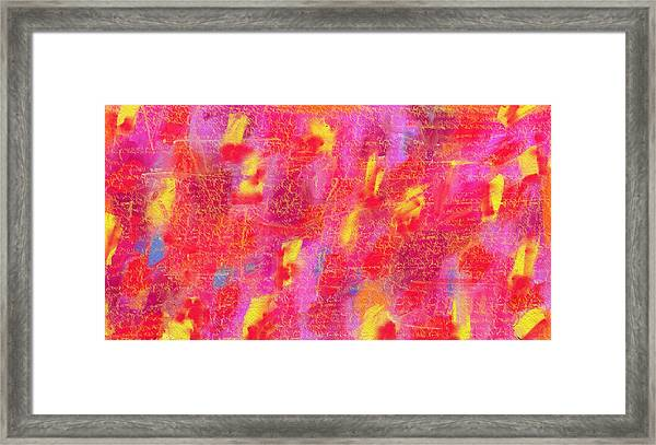 Red On Red Framed Print by Sula Chance