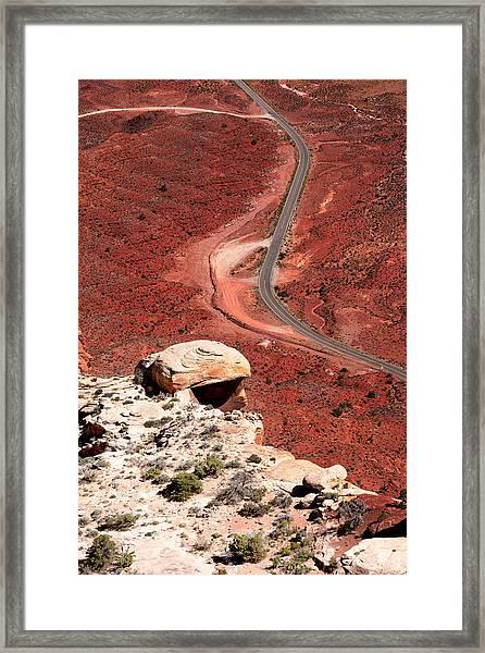 Red Rover Framed Print