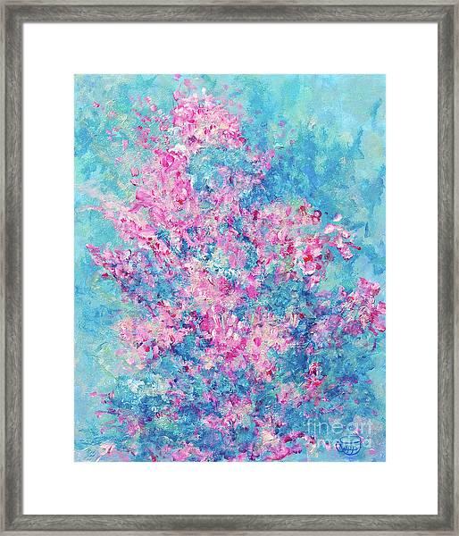 Redbud Special Framed Print