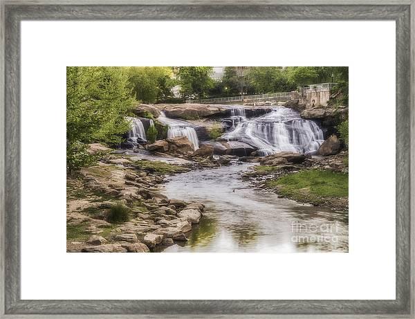 Reedy View Framed Print