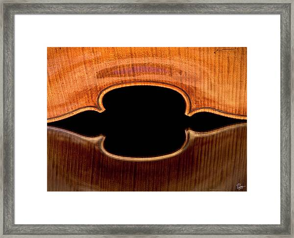 Reflected Corners Framed Print
