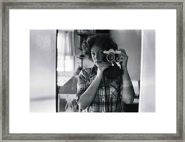 Reflecting Back Framed Print
