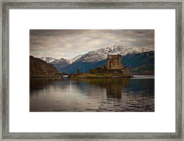 Reflection At Eilean Donan Framed Print