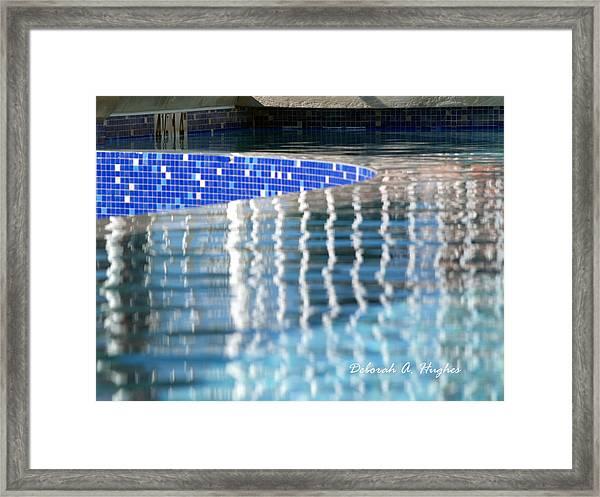 Reflection Pool Framed Print