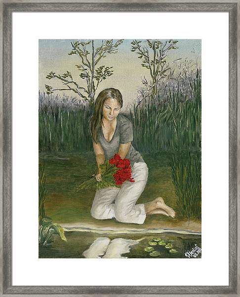 Reflections On Life Framed Print