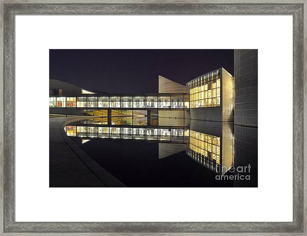 Reflective Exploration Framed Print