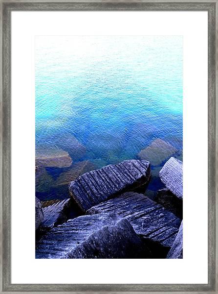 Relic Rocks Framed Print