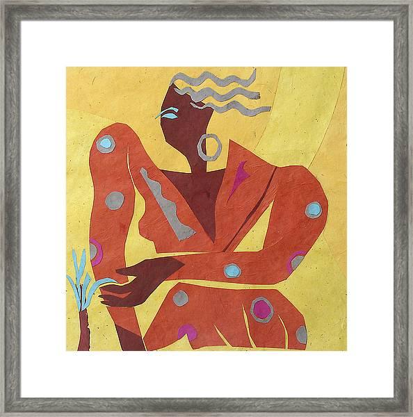Dancer At Rest #2 Framed Print