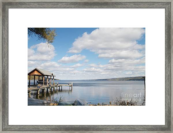 Resting Waters Framed Print