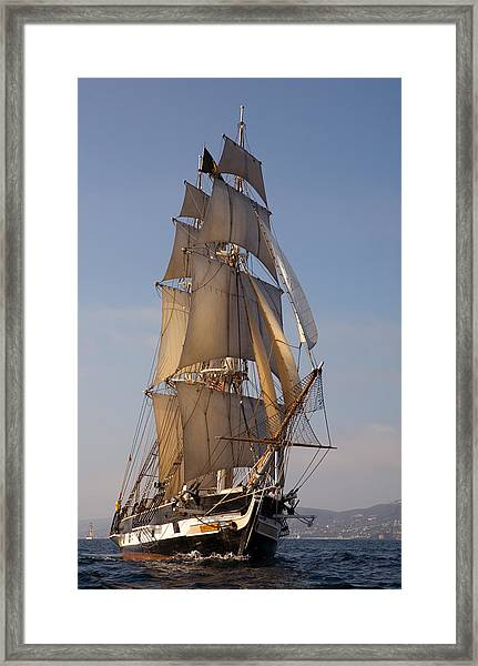 Return Of The Pilgrim Framed Print