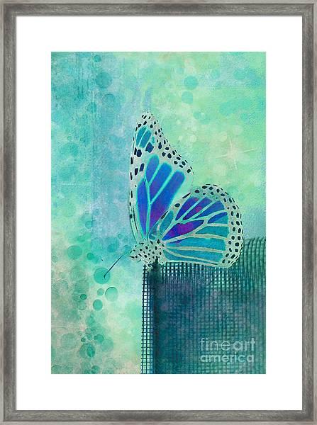 Reve De Papillon - S02b Framed Print