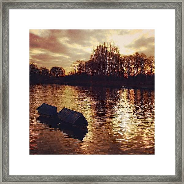 #richmond #london Framed Print