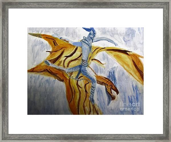 Ride Toruk The Dragon From Avatar Framed Print