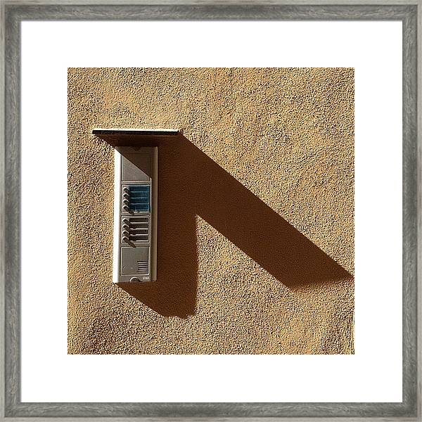 Ring My Bell #igers #ig #instagood Framed Print