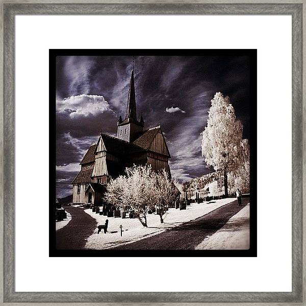 Ringebu, Norway. Stave Church. Taken Framed Print