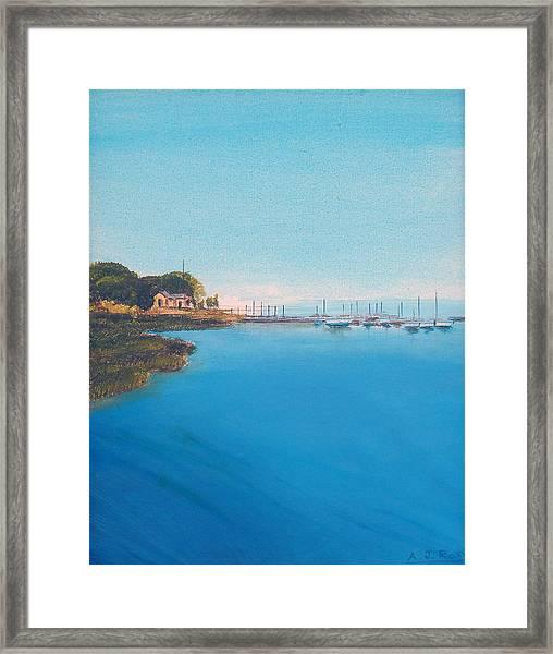 Rings Island Framed Print